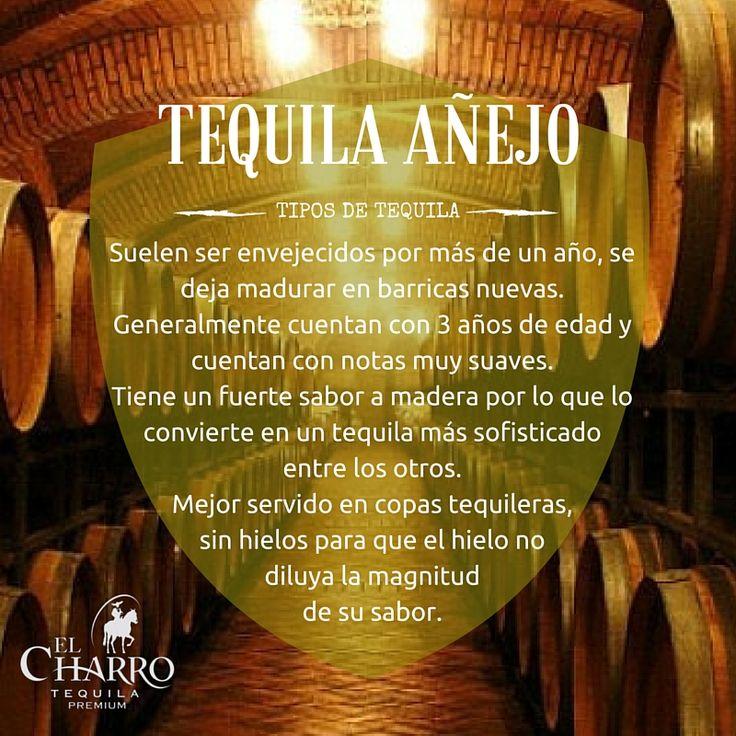 Conoce todos los tipos de tequila!!! #Tequila #Añejo