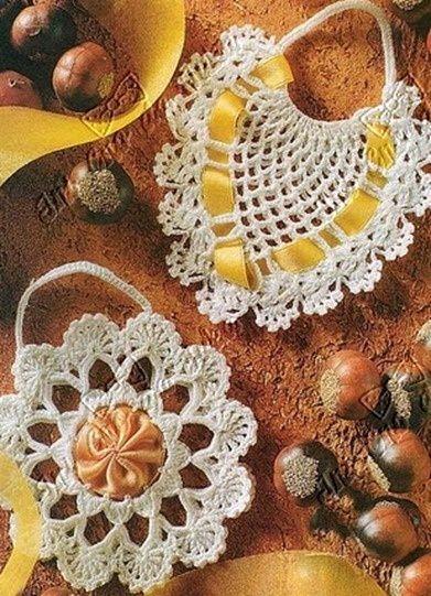 155 besten Crochet Sachet & Pin Cushions Bilder auf Pinterest ...