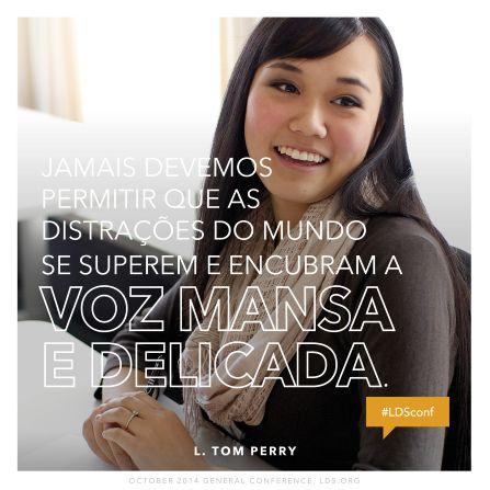 Encontrar Paz Duradoura e Edificar uma Família Eterna - ÉlderL. Tom Perry