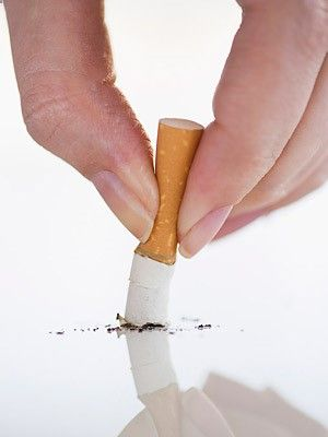 Snuff out smokes! Smoking can worsen eczema symptoms. Plus- it's really bad for you anyway:(