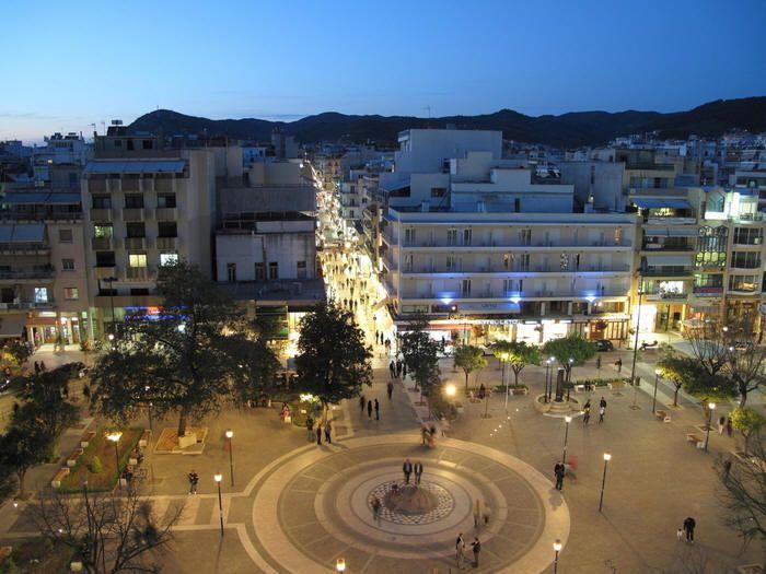 Agrinio Town Aitoloakarnania region