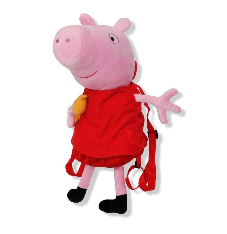 PEPPA PIG Peluche Mochila Peppa Pig