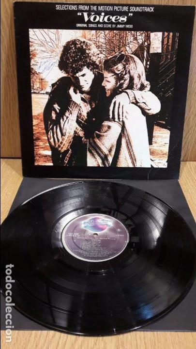 B.S.O. VOICES. JIMMY WEBB. LP / PLANET RECORDS - 1979 / MBC. ***/***