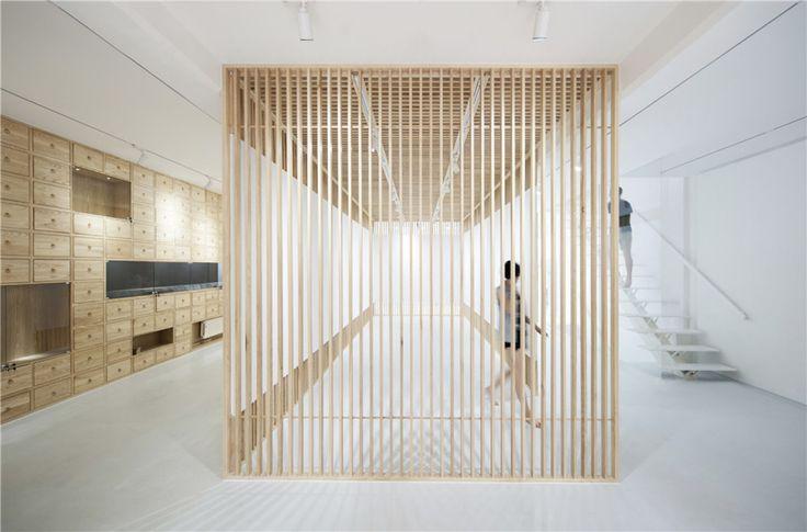 Archstudio · Folding Screen --- Rongbaozhai Western Art Gallery · Divisare