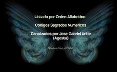 Abundancia, Amor y Plenitud : LISTADO POR ORDEN ALFABETICO DE LOS CODIGOS SAGRAD...