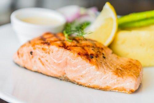 Grilovaný losos s dýňovým pyré | Recepty | KetoDiet CZ