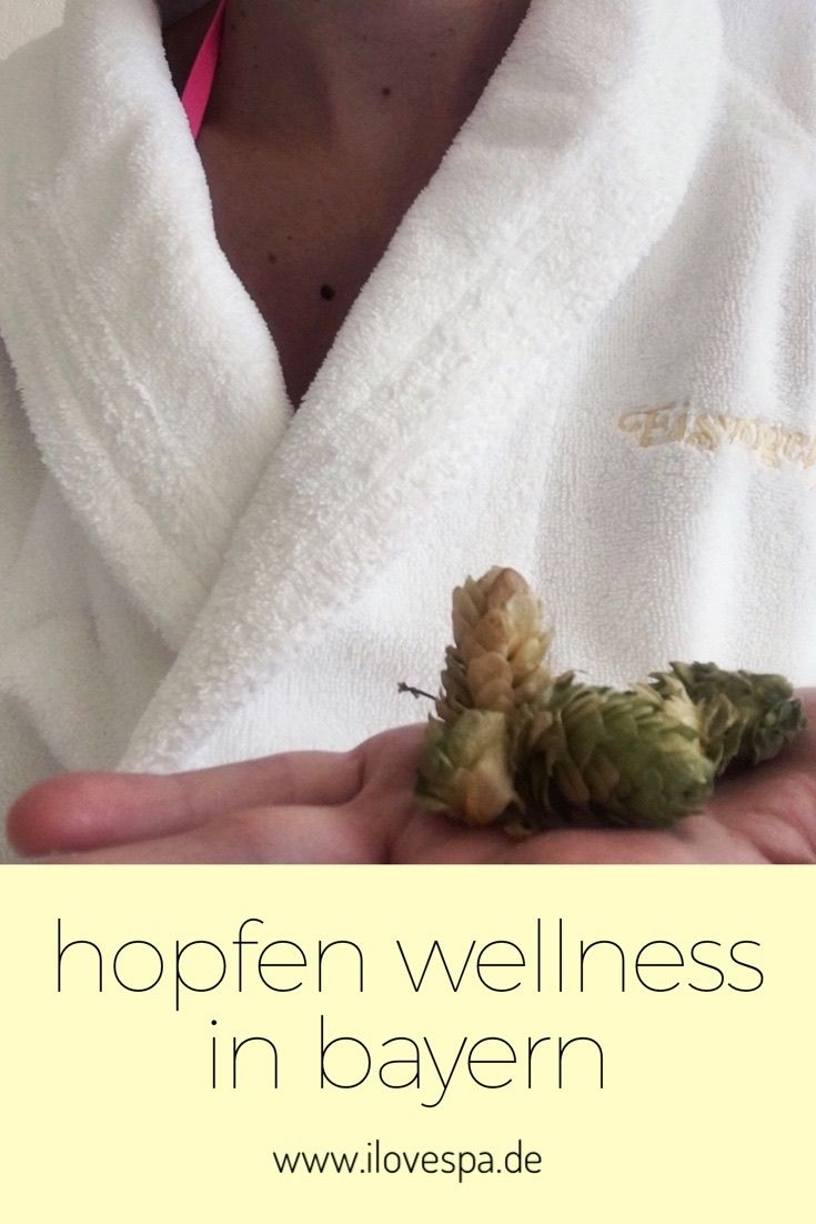 Hopfen Wellness in Bayern im Eisvogel Spa - Wellnesshotel Bayern Hotel Eisvogel Bad Gögging