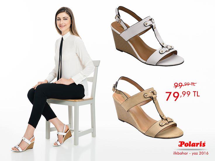 Yaz indiriminde son fırsatları kaçırmayın!  #SS16 #newseason #summer #spring #ilkbahar #yaz #yenisezon #fashion #fashionable #style #stylish #polaris #polarisayakkabı #shoe #ayakkabı #shop #shopping #women #womenfashion #trend #moda #ayakkabıaşkı #shoeoftheday