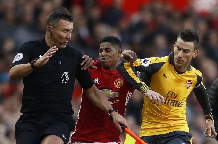 Manchester United sahasında konuk ettiği Arsenal karşısında 1-0 öne geçmesine rağmen rakibini devirmeyi başaramadı. Her iki takımda sahadan 1 puanla ayrılmak zorunda kaldı.