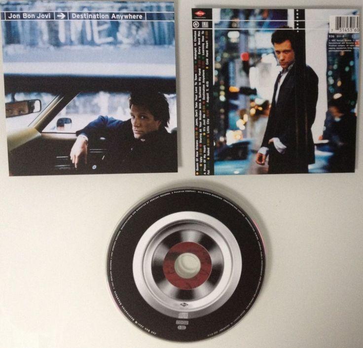 CD*Destination Anywhere•JON BON JOVI•1997•Album•Rockmusik/Popmusik/Rock Musiksparen25.com , sparen25.de , sparen25.info