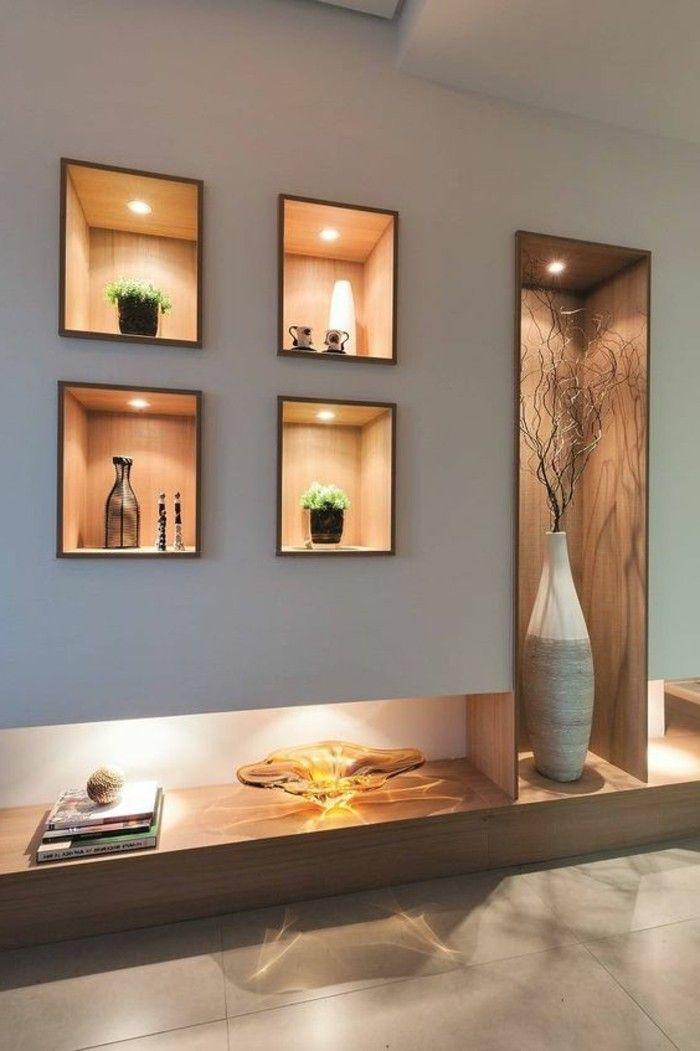 Image result for niche original designs foyer home for Cartongesso sala