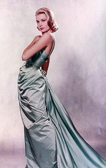 one of my style icons: Grace Kelly Academy Awards gown designed by