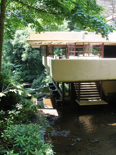 1000 Ideas About Falling Water House On Pinterest