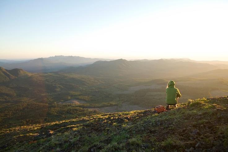 Saddle Moutain State Park Hike. Oregon Coast