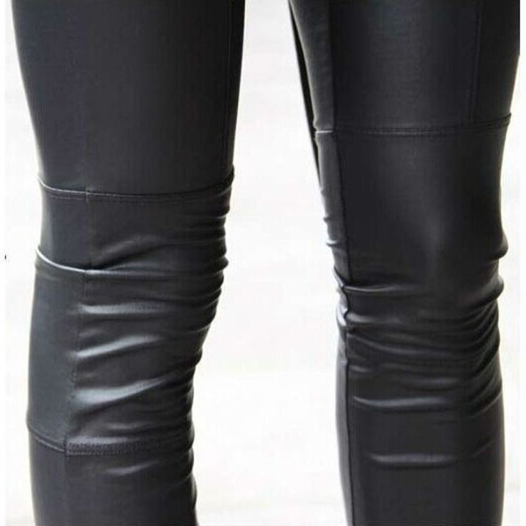 2016 women  new sexy Black coffee Modal leggings leggin plus size girl pants Patent leggings Faux Leather Leggings for women