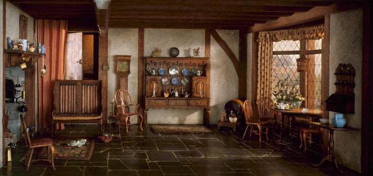 Mrs. James Ward Thorne American, 1882-1966, E-5: English Cottage Kitchen of the Queen Anne Period, 1702-14