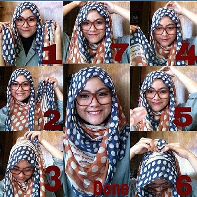 Check out this easy cute hijab tutorial for casual days, you can wear it with sporty or casual outfits, it's siùmple, quick and so easy to make. Here are the steps to this look: 1. Place the hijab on your…