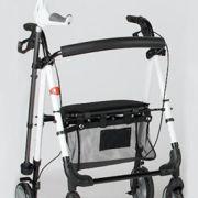 Andador Rollator de Aluminio Plegable #ortopedia #andador #caminador #anciano #movilidad #adultos #mayores #terceraedad #salud #ortopediaparati