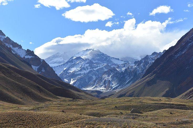 アンデス山脈, 山, アコンカグア, 風景