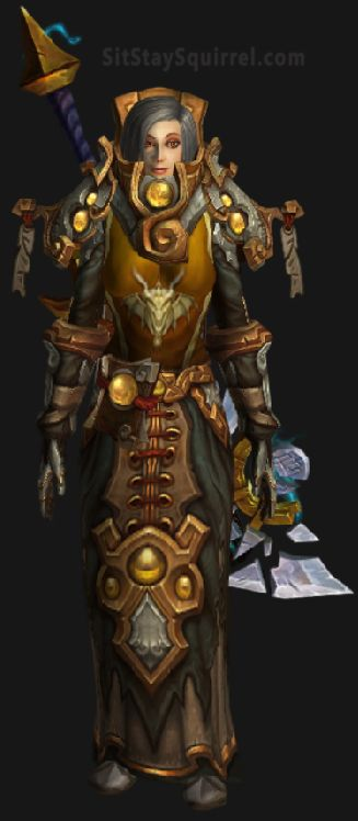 Retribution Ashbringer WoW Legion Transmog: Shattered Reckoning Yellow Skin