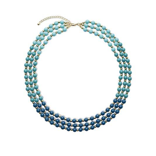 Ожерелье «Бирюзовая волна»