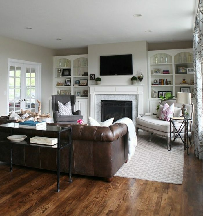 Chesterfield wohnzimmer  The 75 best images about lounge area on Pinterest | Rustic living ...