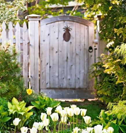 Sure, a garden gate marks the entrance to your property but it also signals whats beyond. Set the tone with one that reflects your style.