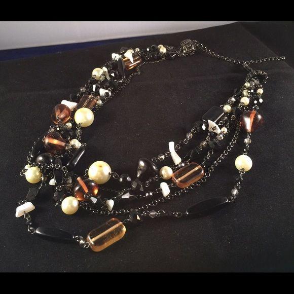 "Lia Sophia Jewelry - Lia Sophia ""Vixen"" necklace 18-21"""