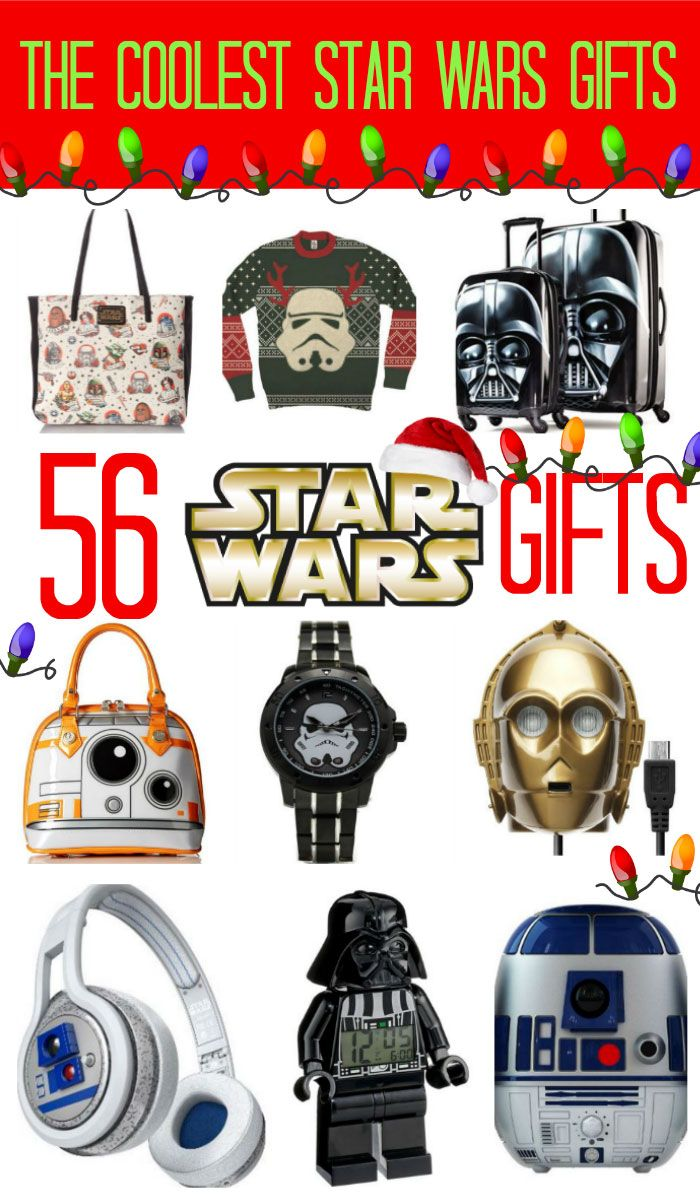 Look no further for the best Star Wars Gift Guide ever. Apparel, jewelry, home, auto, gaming and toys. Everything you could need for the Star Wars fan.