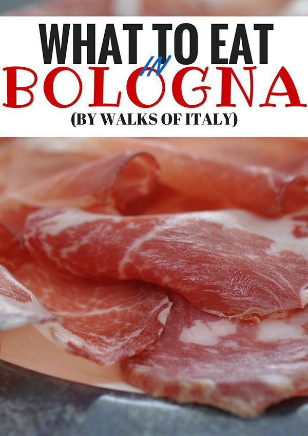 Bologna and Emilia Romagna have some of the best food in Italy. Find out what to eat when you visit on the Walks of Italy blog.