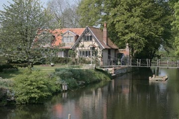 Moat House, Hindringham Hall, Norfolk