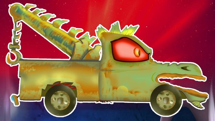 Camion de remorquage | Vidéo enfants effrayants | Garage jouet | Scary T...