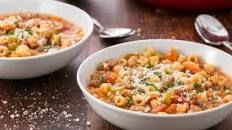 Easy Pasta e Fagioli Soup Recipe - How to Make Pasta Fagioli with Sausage