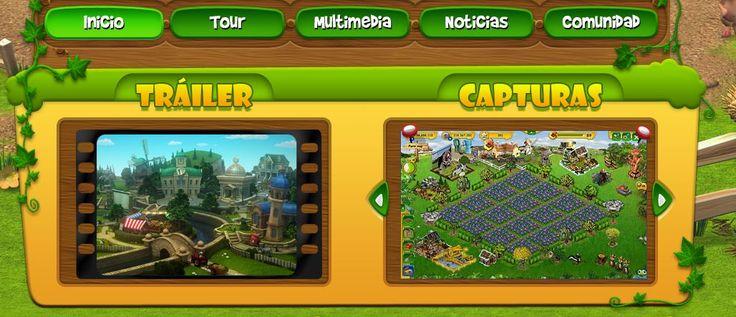 Juegos online para aficionados a la agricultura: Entra en la granja más disparatada del mundo en Farmerama. Construye tu granja y conviértete en un auténtico granjero.