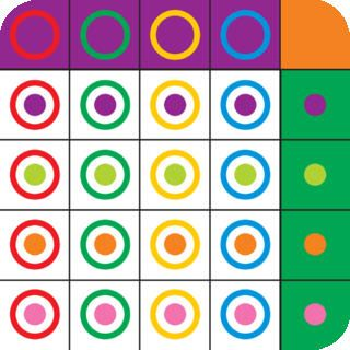 Matrix Game 2 Matrix Game helps develop visual perception skills such as visual discrimination. It also helps develop attention and concentration, spatial orientation and principles of classification and categorization. Furthermore, it helps develop executive functions such as planning and perseverance.