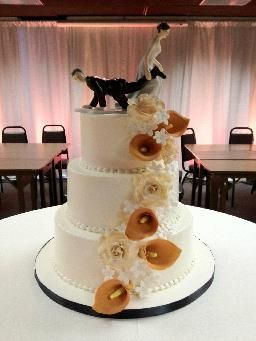 Graciosos muñecos de torta