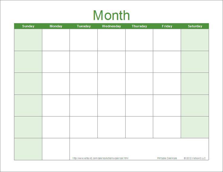 Download free printable blank calendars in a variety of colors and formats. These are designed for editing in Excel