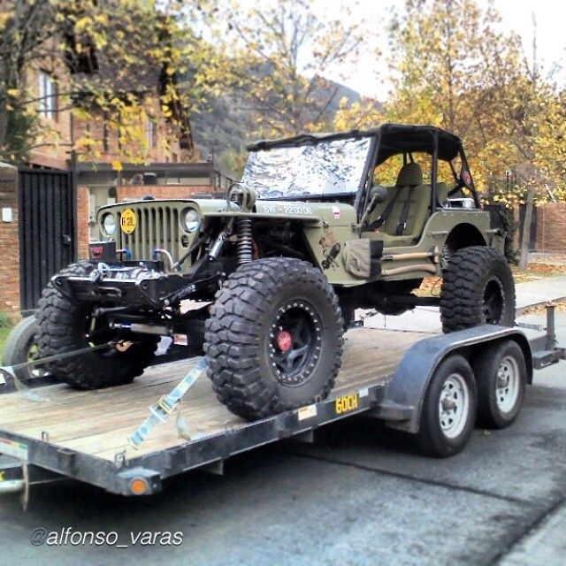 """Cj 3a """"Ooohhhh bbboooyyy would I love to drive this!!"""""""