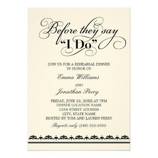 Best 25+ Dinner invitation wording ideas on Pinterest Rehearsal - formal dinner invitation sample