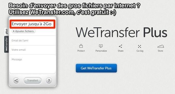 Comment envoyer des fichiers lourds par internet avec Wetransfer