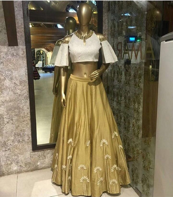 Checkout this designer amazing golden lehenga choli Product Info : Fabric : Raw silk Blouse : Raw silk Dupatta : can be done on order Unstitched blouse Semi Stitched Making time : 7 to 10 days Price : 3400 INR Only ! #Booknow CASH ON DELIVERY Available In India ! World Wide Shipping ! ✈ For orders / enquiry WhatsApp @ +91-9054562754 Or Inbox Us , Worldwide Shipping ! ✈ #SHOPNOW #fashion #lookbook #outfitsociety #fashiongram #dress #model #urbanfashion #lux..
