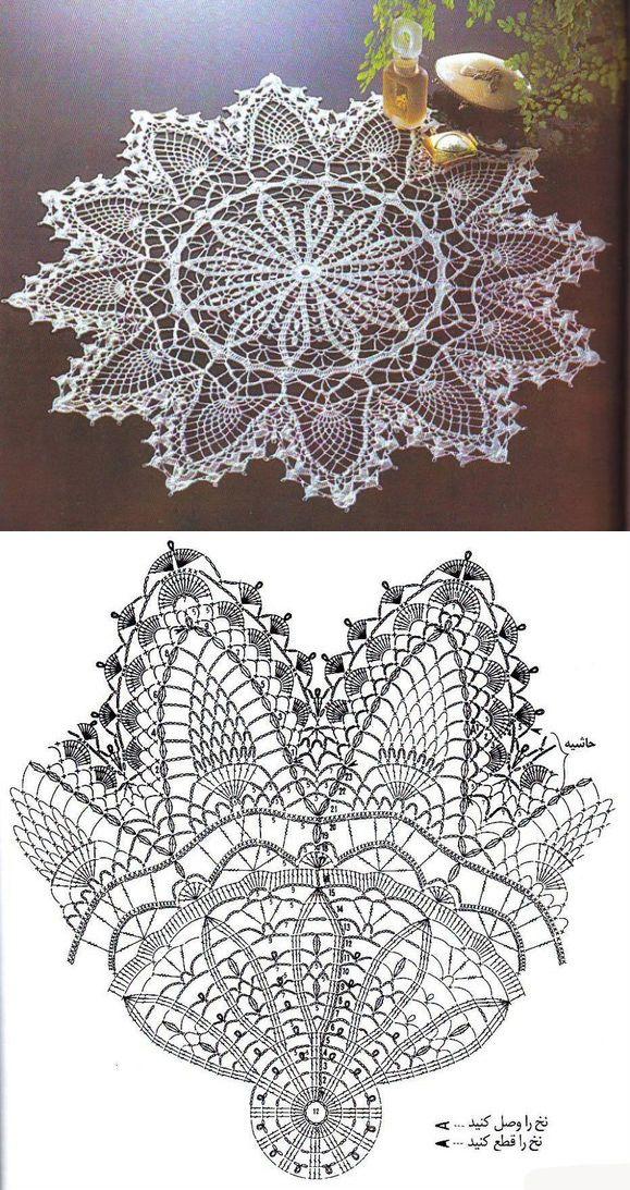 Best 25+ Crochet doily patterns ideas on Pinterest | Doily ...