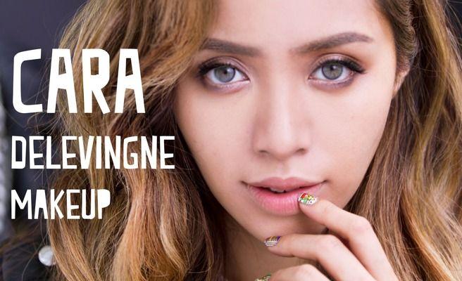Michelle Phan: Cara Delevingne makeup