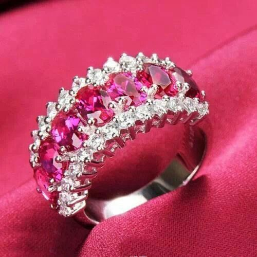This is a really pretty ring! I love diamonds, and I LOVE PINK!!!