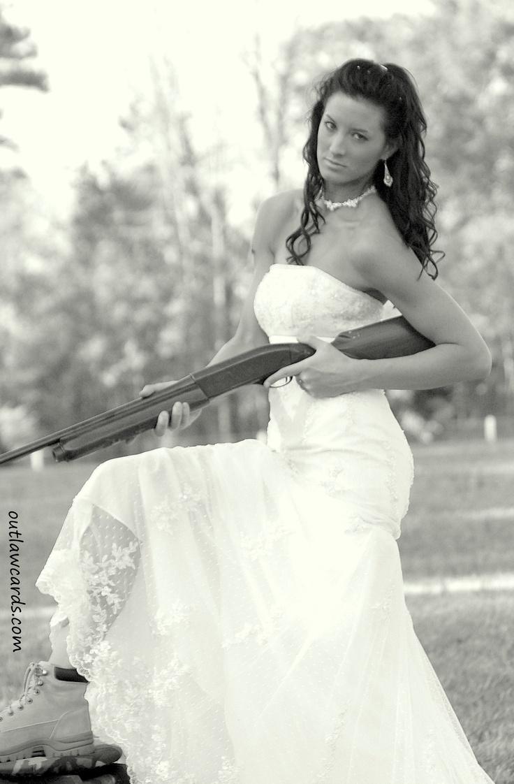 """Southern """"shotgun wedding""""..."""