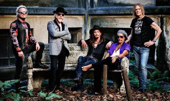 Aerosmith Fly in with European tour dates 2017