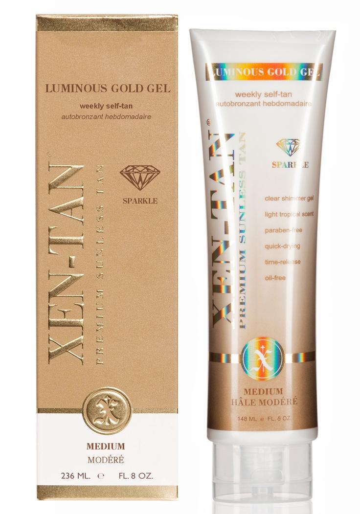 Xen-Tan's Luminous Gold Gel  http://www.beautyguild.com/news.asp?article=2566