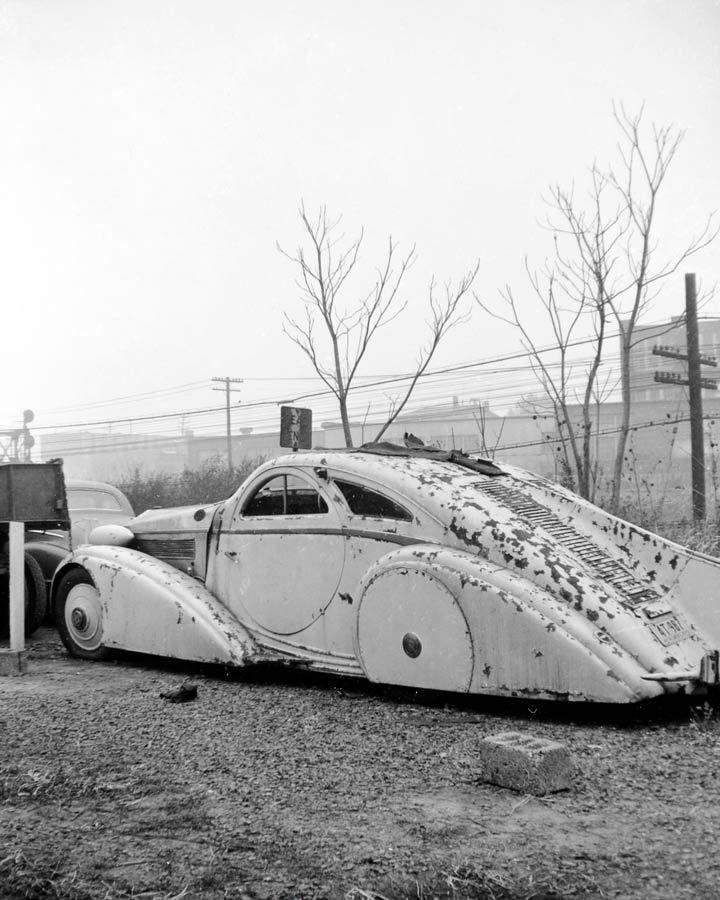 1925 Rolls Royce Phantom I Jonckheere Aerodynamic Photo