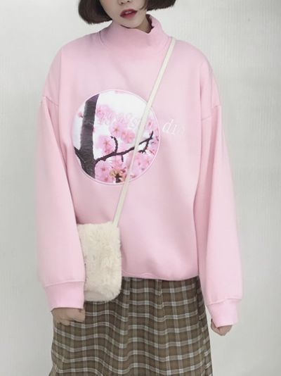 Updated Sweet Long Sleeve Hoodies_Hoodies_Outerwear_WHOLESALE CLOTHING_Wholesale clothing, Wholesale Clothes Online From China