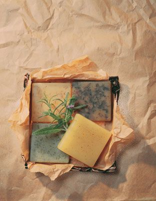How to Make Homemade Soaps with Herbs